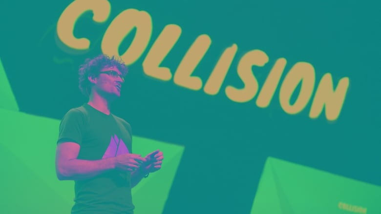 Paddy Cosgrave, the founder and CEO of the Collision Tech Conference