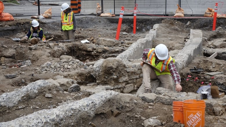 Parliament Hill excavation uncovers pre-Confederation military complex