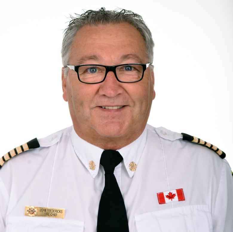 Yellowknife Fire Chief John Fredericks Said There Was No
