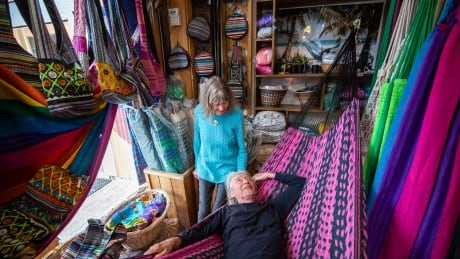 Hanging happy: Granville Island hammock store still swinging after more than 20 years