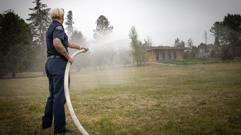 Metro Vancouver fire departments prepare for urban wildfires