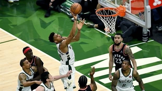 Game Wrap: Bucks rout Raptors to take 2-0 lead in Eastern Conference Final