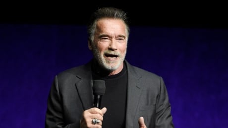 Arnold Schwarzenegger kicked from behind at event in South Africa