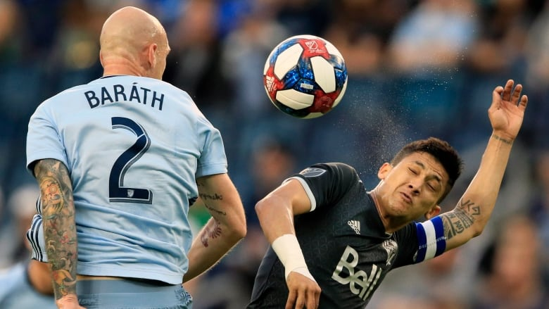 Whitecaps escape KC with draw after last-minute goal
