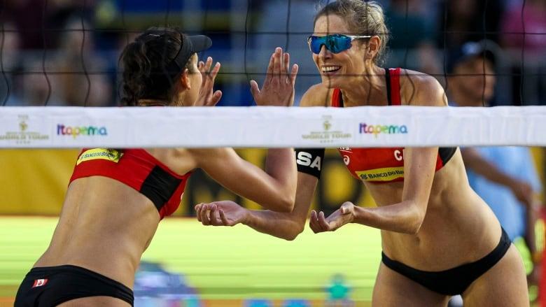 Canadian women's beach volleyball teams win silver, bronze in Brazil