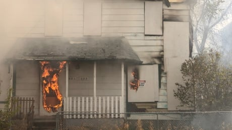 Young Street House Fire