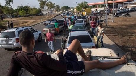 Venezuela Gasoline Lines
