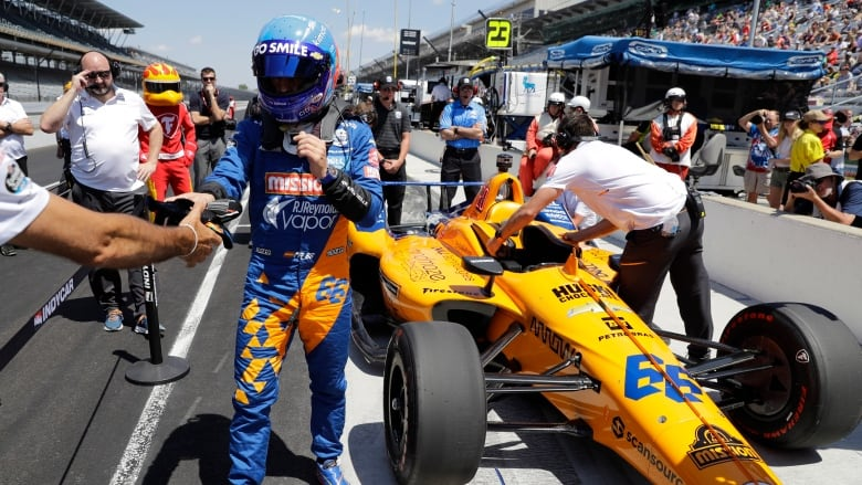 2-time Formula One champ Fernando Alonso fails to qualify for Indy 500