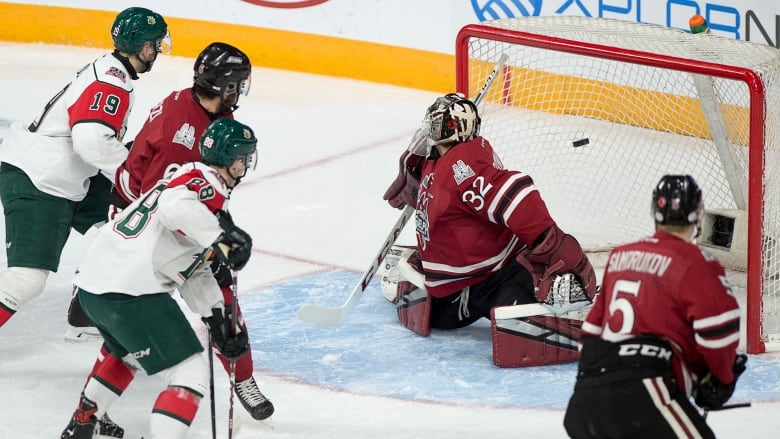 Memorial Cup Raphael Lavoie Mooseheads Beat Storm To Secure