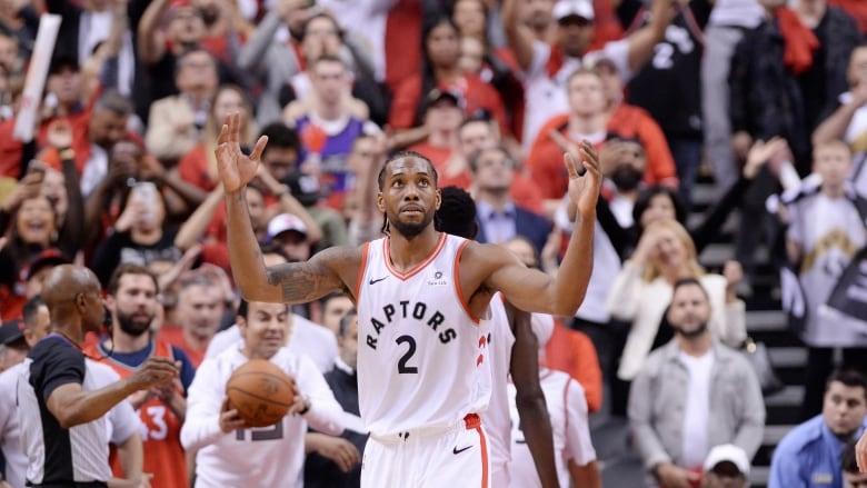 Kawhi Leonard powers Raptors to double overtime win   CBC Sports