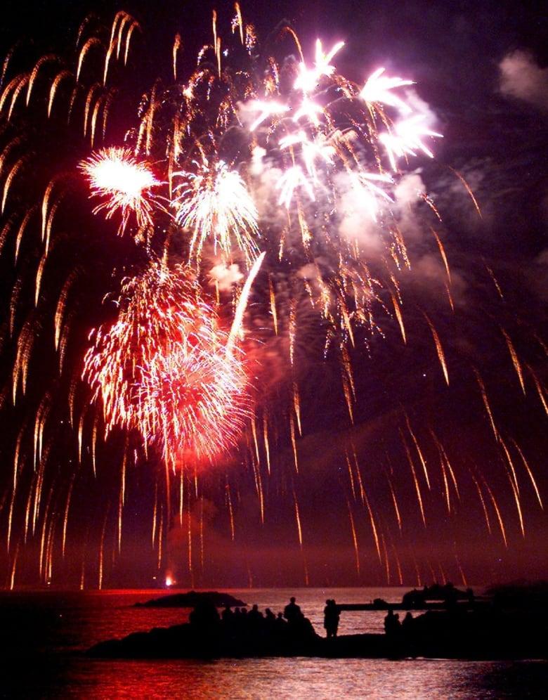 Canada Day Toronto fireworks