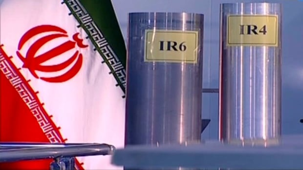Iran quadruples production of enriched uranium, reports say - CBC.ca thumbnail