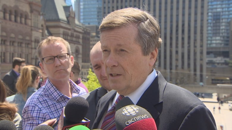John Tory asks province to 'reverse' funding cuts, work together to find efficiencies