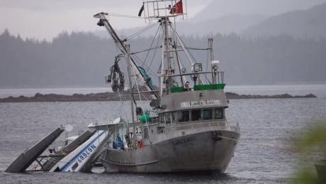 Alaska float plane crash May 20, 2019