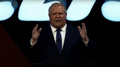 Doug Ford met with chorus of boos at Collision conference amid string of tech funding cuts
