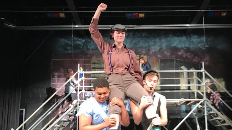 Student musical Newsies carries on, just with a change of setting, after theatre vandalized