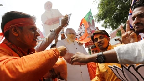 Modi's party claims victory as Indian votes are counted