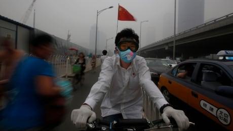 CHINA POLLUTION SMOG