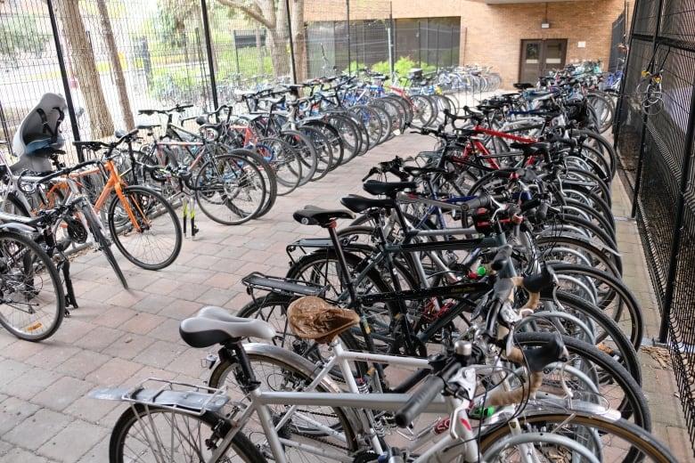 Bike Parking At Work