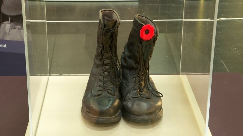 D-Day Combat-boots-travelling-canada-pei-may-23-2019