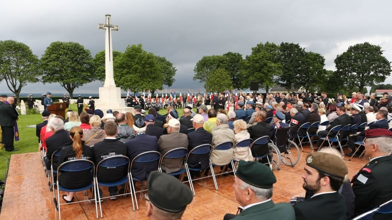 D-Day Normandy-ceremony