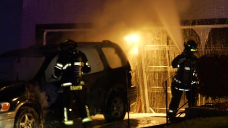 Abbotsford police say early morning fire deliberately set in occupied home