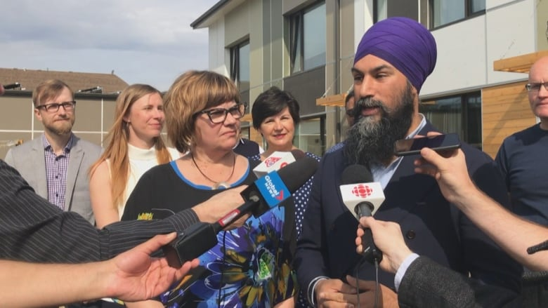Federal NDP leader expresses confidence party can regain its 3 seats