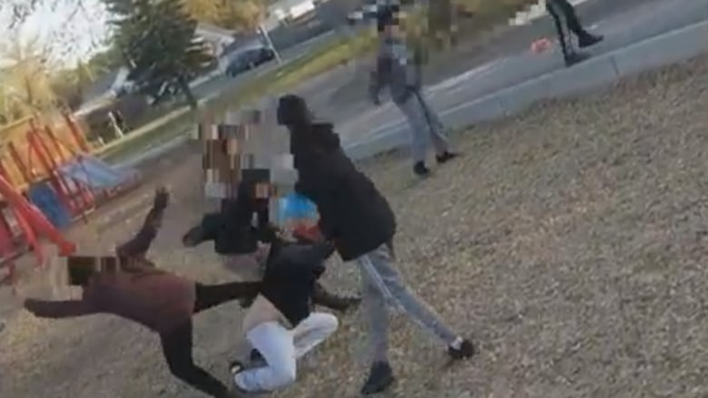 'It took everything in me not to react': Why a man in Saskatoon filmed children attacking a woman