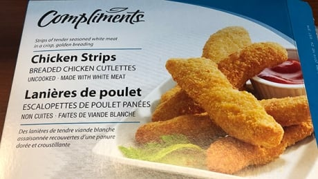 Compliments brand chicken strips recalled