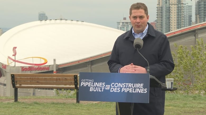 Scheer outlines 'vision for Canada' that includes national corridor for energy, telecom