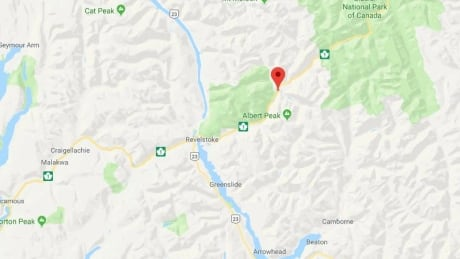 Highway 1 closed east of Revelstoke