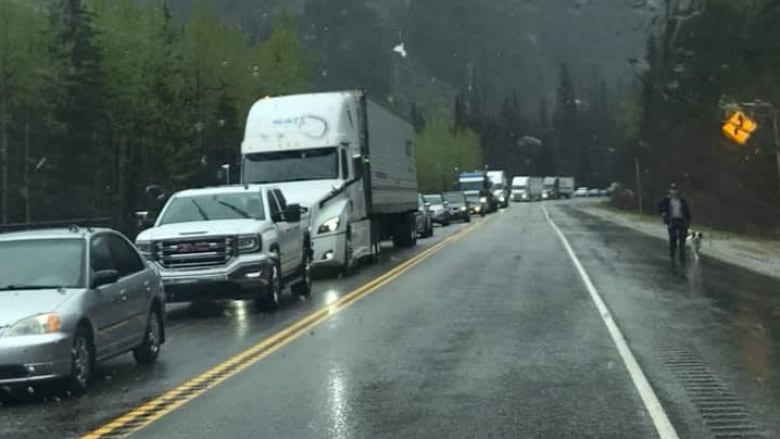Highway 1 east of Revelstoke reopens after 5-hour closure