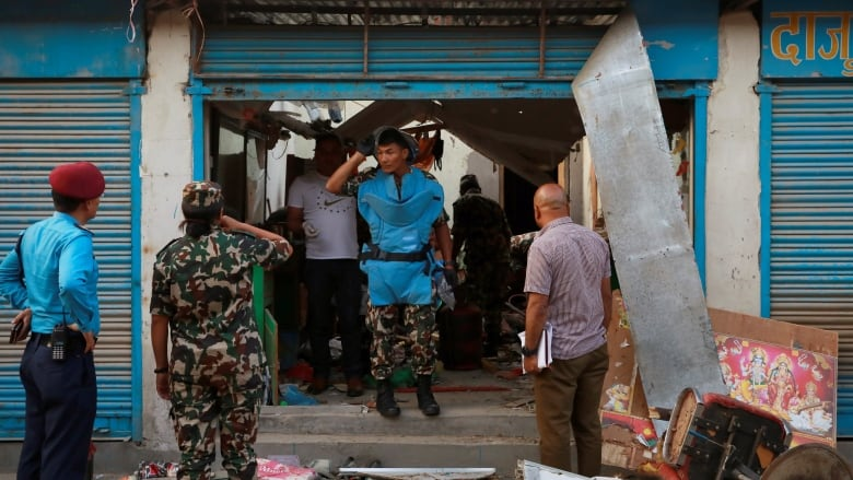 Explosions in Nepal's capital leave 3 dead, 8 wounded