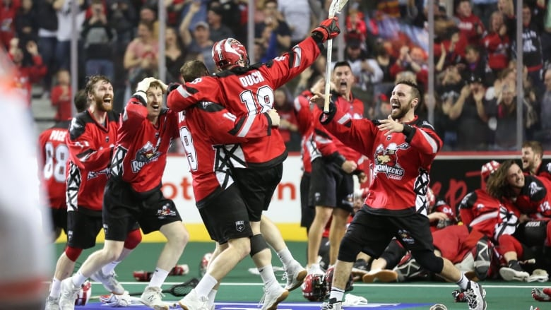 Calgary Roughnecks win National Lacrosse League title for 1st time in 10 years