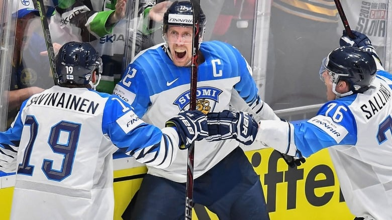 Finland Downs Canada To End 7 Year Gold Medal Drought Cbc Sports