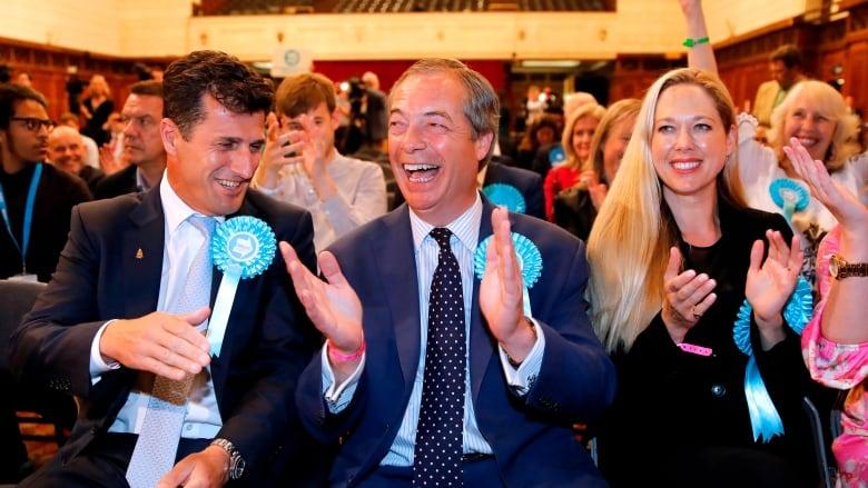 U.K.'s Brexit Party triumph boosts chances of 'no