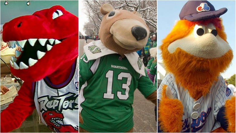From Gainer To The Raptor 6 Classic Canadian Mascots Cbc Archives