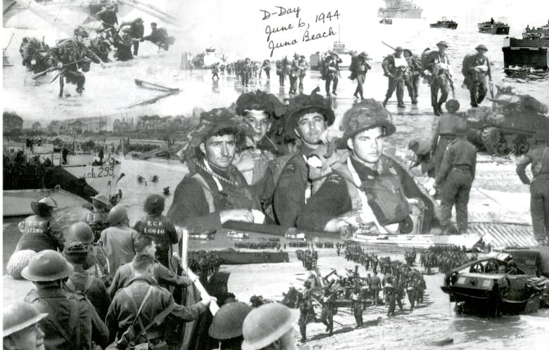 Postcards from Juno Beach dispatched 75 years later in memory of fallen Canadian soldiers