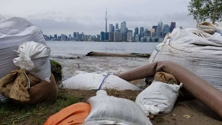 Lake Ontario reaches highest level in recorded history, leaving Toronto Islands bracing for more flooding