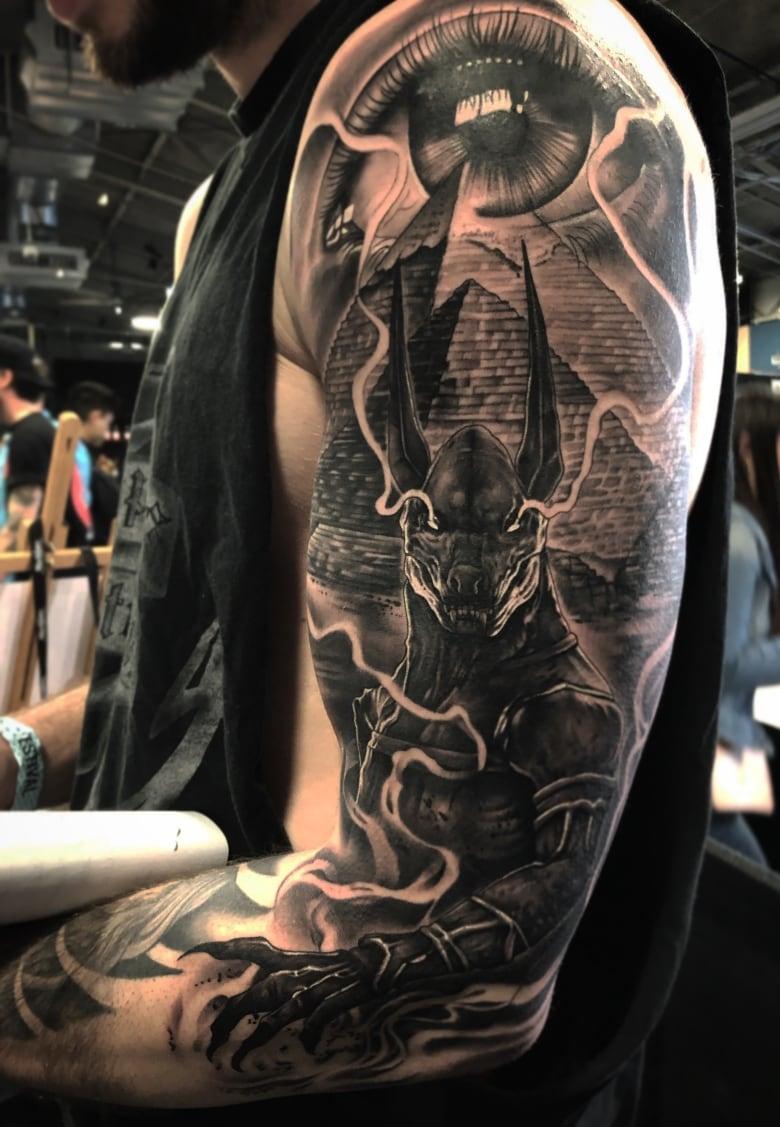 Corner Brook tattoo artist wins big at annual ink festival   CBC News