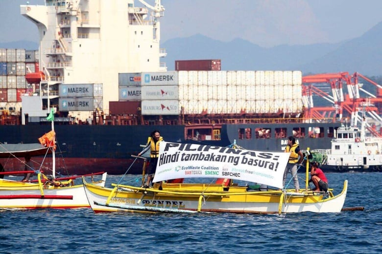 Canada partly to blame for trash fracas with Philippines, say environmentalists