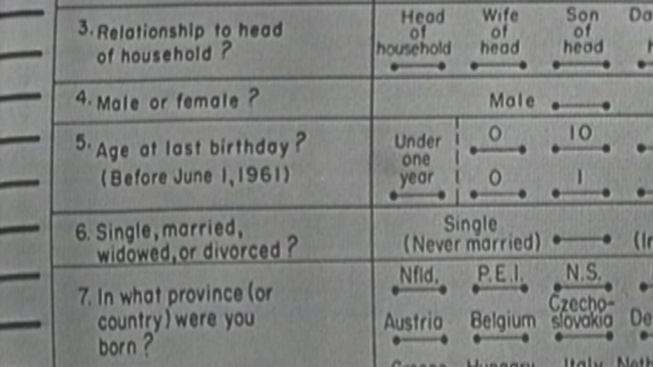 Taking the census wasn't easy in 1961 | CBC Archives