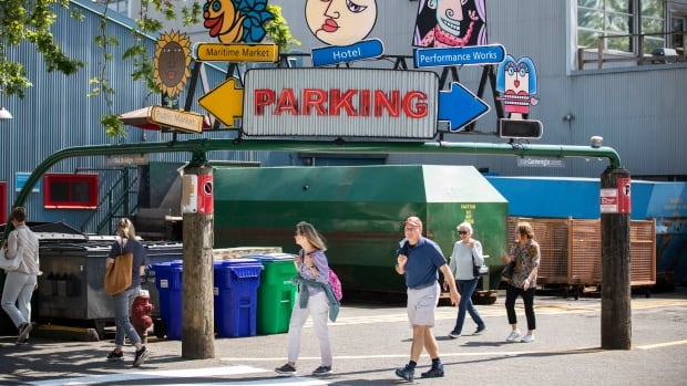 Granville Island businesses upset over return of paid parking