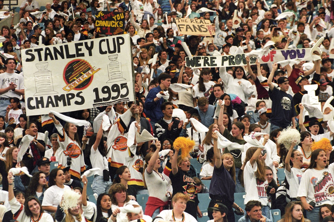 Why The 1994 Canucks Continue To Be The Most Loved Losing Team In B C Sport History Cbc News