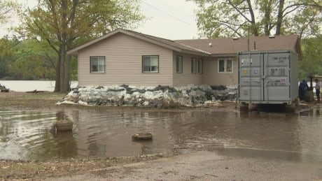 Flooded Home Constance Bay
