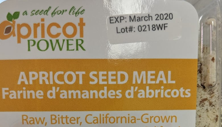 Apricot Power products recalled due to risk of cyanide poisoning