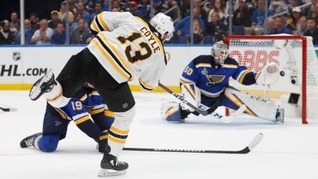 APTOPIX Stanley Cup Bruins Blues Hockey
