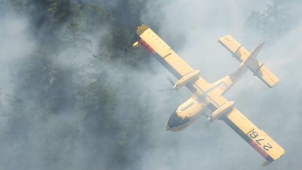 Forest fires spread smoke throughout northwestern Ontario | CBC News