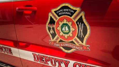 Cape Breton regional fire logo