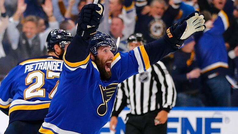 check out 6c035 aa9c7 Blue no more: Patrick Maroon's perfect St. Louis homecoming ...